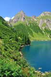 Alpine lake (lago) Morasco, Formazza valley, Italy Royalty Free Stock Photography