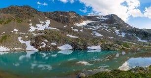 Alpine lake Stock Image