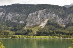Alpine lake Mondsee, Austria Royalty Free Stock Photo