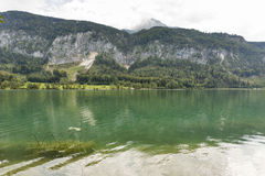 Alpine lake Mondsee, Austria Royalty Free Stock Photos