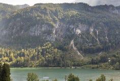 Alpine lake Mondsee, Austria royalty free stock photos