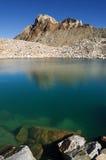 Alpine Lake And Mount Humphreys Royalty Free Stock Photo