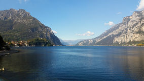 Alpine lake in northern Italy Stock Photography