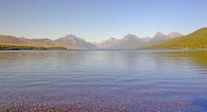Alpine Lake Panorama Royalty Free Stock Photography