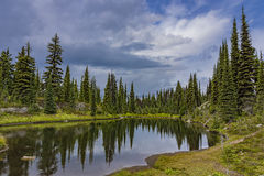 Alpine Lake in Revelstoke National Park British Columbia Canada Royalty Free Stock Photo
