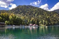 Free Alpine Lake Ritsa In Republic Of Abkhazia Royalty Free Stock Photography - 152220967