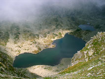 Alpine lake in Romania Royalty Free Stock Photos