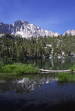 Alpine lake in Sierra Nevada of California Royalty Free Stock Photography