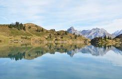 Alpine lake. Switzerland Royalty Free Stock Photos