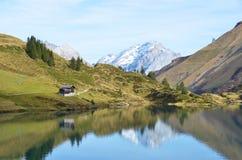 Alpine lake. Switzerland Royalty Free Stock Photography