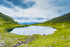 Alpine Lake Stock Image