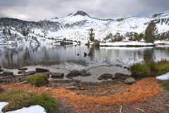 Alpine Lake, Wallowa Mountains, Oregon Stock Photo