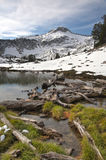 Alpine Lake, Wallowa Mountains, Oregon Royalty Free Stock Images