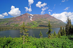 Alpine Lake in the wilds Stock Photos