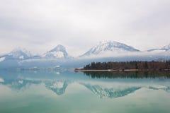 Alpine Lake Wolfgangsee, Austria Royalty Free Stock Images