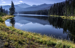 Alpine Lake. In Yellowstone National Park Royalty Free Stock Photography