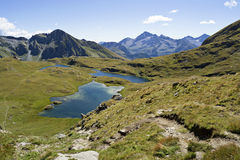 Alpine lakes Royalty Free Stock Photos