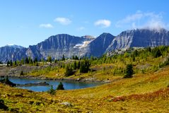 Alpine lakes, banff national park Royalty Free Stock Photo