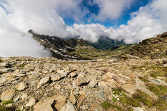 Alpine lakes Royalty Free Stock Photography