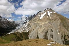 Alpine landscape. In spring (Switzerland Stock Image