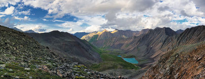 Alpine landscape. Stock Photo