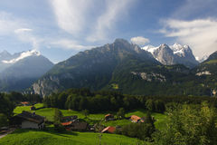 The Alpine landscape  Stock Photography