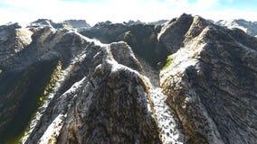 Alpine landscape in the Alps 3d rendering. Alpine landscape in the Pennine Alps Stock Image