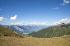 Alpine landscape in Austria Royalty Free Stock Images