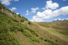 Alpine landscape in Austria Stock Photo