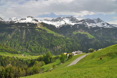Alpine landscape Royalty Free Stock Photo