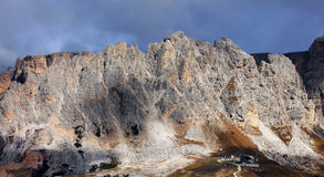 Alpine landscape in the Dolomites, South Tyrol Stock Photos