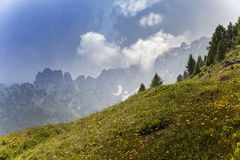 Alpine landscape Stock Photos