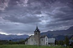 Alpine landscape, France Royalty Free Stock Photography