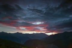 Alpine landscape, France Stock Image
