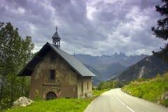 Alpine landscape, France Royalty Free Stock Image