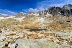 Alpine landscape -  High Tatras mountains, Slovakia Stock Photography