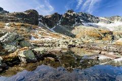 Alpine landscape - High Tatras mountains, Slovakia Royalty Free Stock Photo