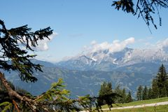 Free Alpine Landscape In Austria Stock Images - 8345704