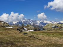 Alpine landscape Stock Photography