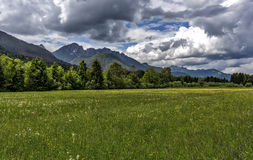 Alpine Landscape in Italy Stock Images