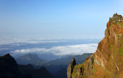 Alpine landscape in Madeira Island Royalty Free Stock Photography