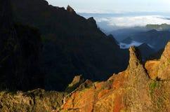 Alpine landscape in Madeira Island Stock Images