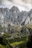 Alpine Landscape at Muehlbach am Hochkoenig in Summer Royalty Free Stock Photo
