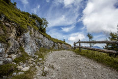 Alpine Landscape at Muehlbach am Hochkoenig in Summer Royalty Free Stock Images
