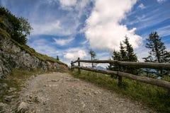 Alpine Landscape at Muehlbach am Hochkoenig in Summer Royalty Free Stock Photography