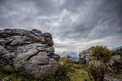 Alpine Landscape at Muehlbach am Hochkoenig in Summer Royalty Free Stock Image