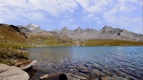 Alpine landscape in summer stock footage