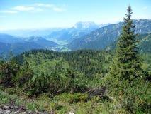 Alpine landscape Stock Photography