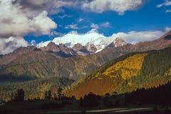 Alpine landscape of Tibet Royalty Free Stock Images
