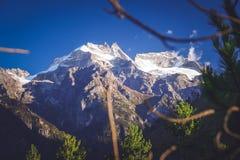 Alpine landscape of Tibet Stock Photo